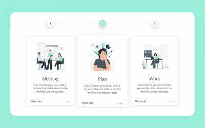 How It Works Section for Divi
