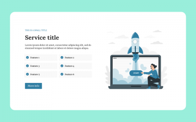 Service Section for Divi